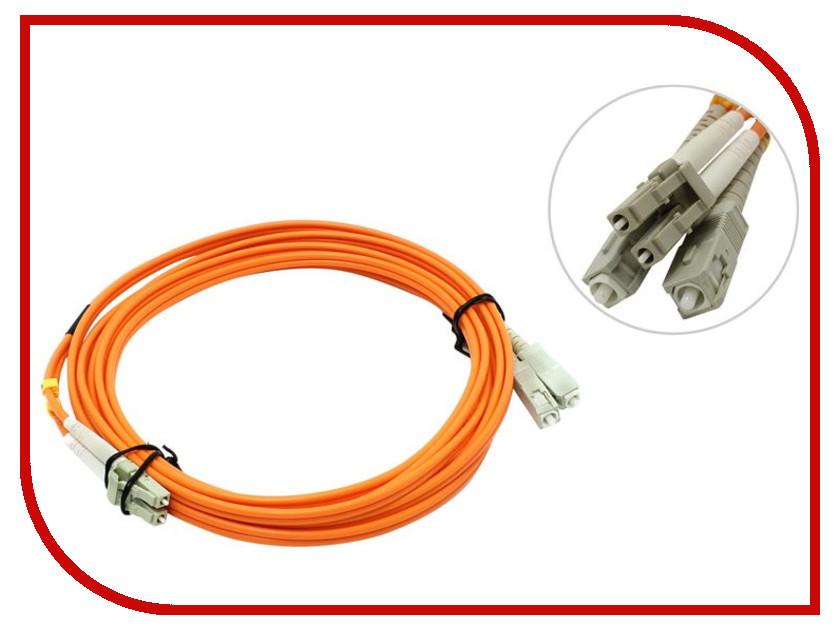 Аксессуар VCOM Optical Patch Cord LC-SC UPC Duplex 1m VDU302-3M