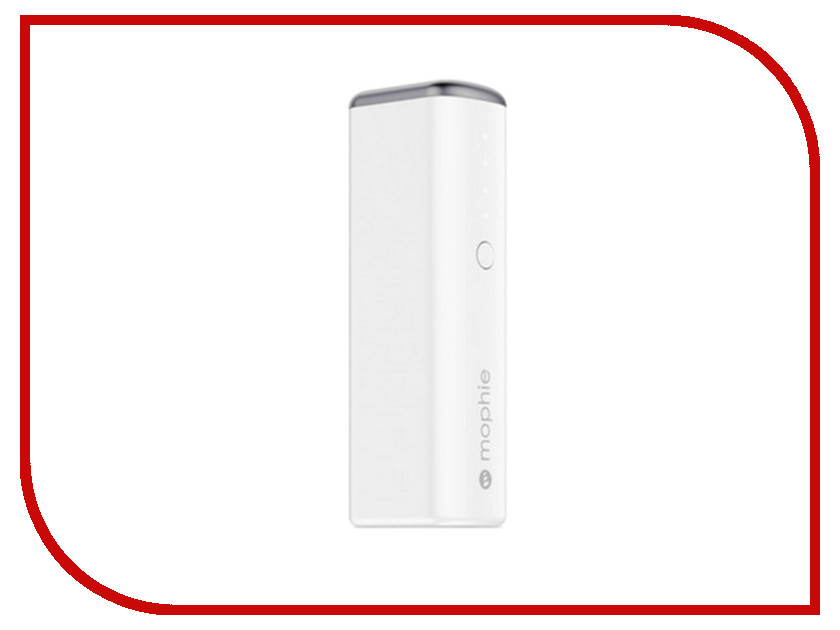 Аккумулятор Mophie Power Reserve 1X 2600mAh White 3349-PWR-RESERVE-2.6K-WHT<br>