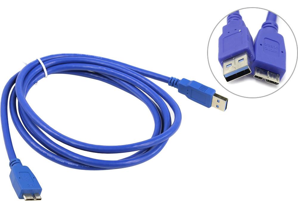 Аксессуар VCOM USB 3.0 AM - Micro BM 1.8m VUS7075-1.8M