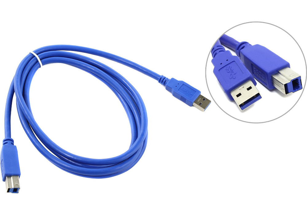 Аксессуар VCOM USB 3.0 AM-BM 1.8m VUS7070-1.8M
