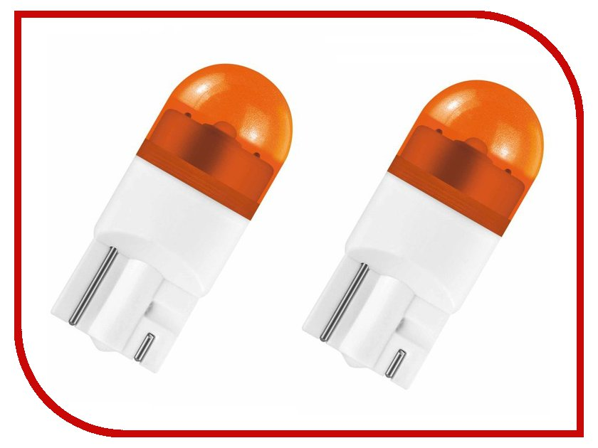 Лампа OSRAM WY5W 12V-1W LED 2000K Yellow (2 штуки)