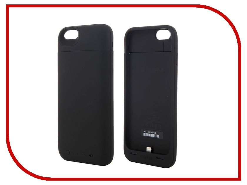 Аксессуар Чехол-аккумулятор Mophie Juice Pack Air для iPhone 6 Black 2750 mAh 3043-JPA-IP6-BLK<br>