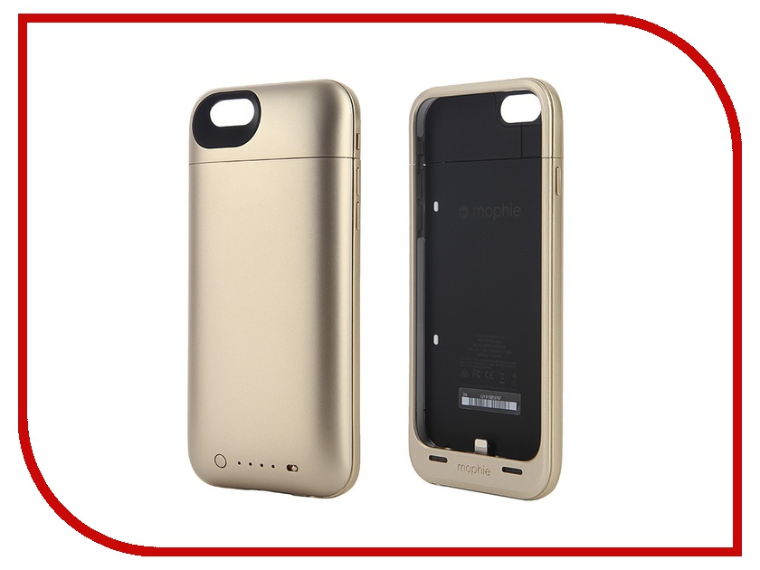 Аксессуар Чехол-аккумулятор Mophie Juice Pack Plus для iPhone 6 Gold 3300 mAh 3073-JPP-IP6-GLD<br>
