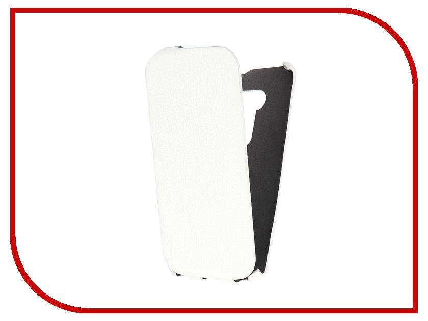 Аксессуар Чехол-книжка Cojess for ASUS ZenFone 2 Selfie ZD551KL Ultra Slim Экокожа Флотер White аксессуар чехол asus zenfone max zc550kl cojess upcase white