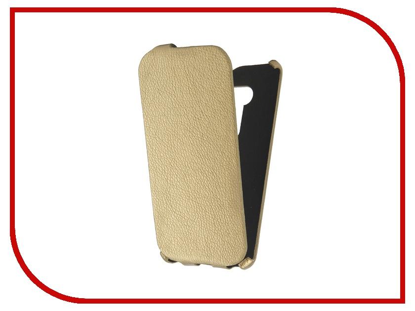 Аксессуар Чехол-книжка Cojess for ASUS ZenFone 2 Selfie ZD551KL Ultra Slim Экокожа Флотер Gold<br>