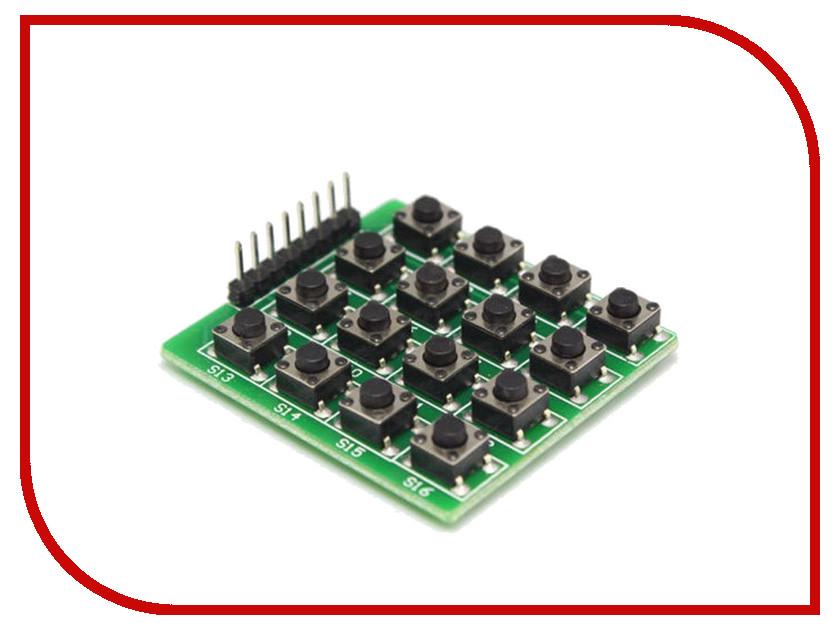 Игрушка Конструктор Радио КИТ RC030 - 16-ти кнопочная матричная клавиатура для Arduino