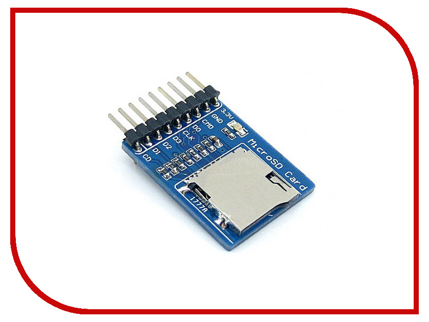 Конструктор Модуль Радио КИТ RC028 - Mini SD / Micro SD CARD с разъёмом