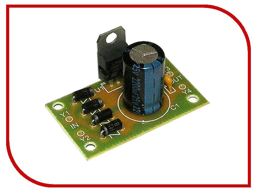 Конструктор Конструктор Радио КИТ RP101 - стабилизатор напряжения 5 В конструктор стереоусилитель радио кит rs020 класса d