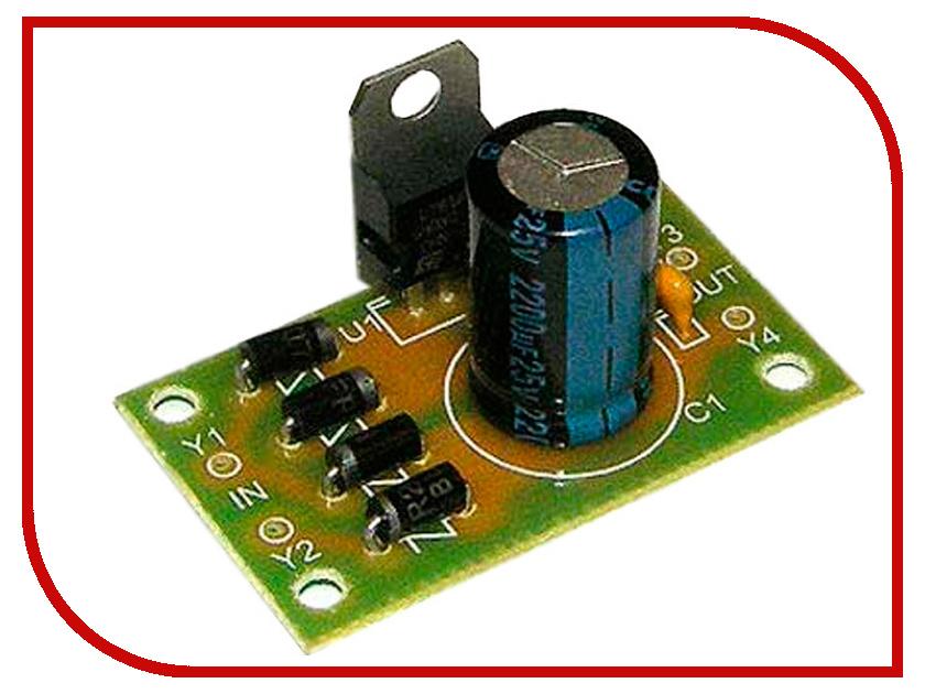 Игрушка Конструктор Радио КИТ RP103 - стабилизатор напряжения 12 В<br>