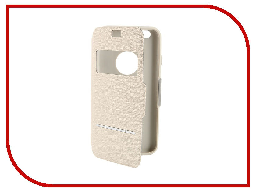 Аксессуар Чехол Moshi SenseCover для iPhone 6 Beige 99MO072101<br>