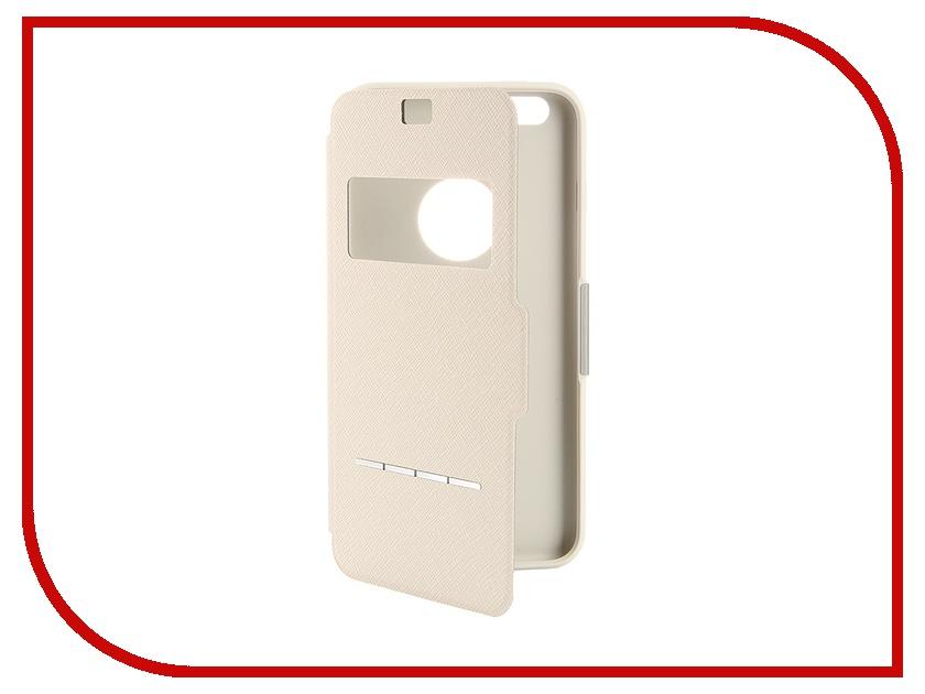 Аксессуар Чехол Moshi SenseCover для iPhone 6 Plus Beige 99MO072102<br>