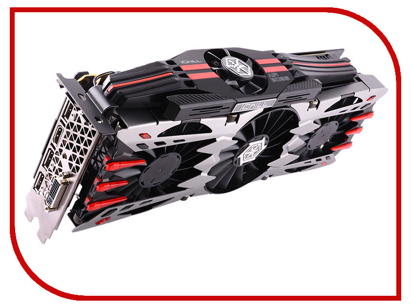 Видеокарта Inno3D GeForce GTX 980 Ti 1152Mhz PCI-E 3.0 6144Mb 7200Mhz 384 bit DVI HDMI HDCP X4 Ultra C98T4-1SDN-N5HNX