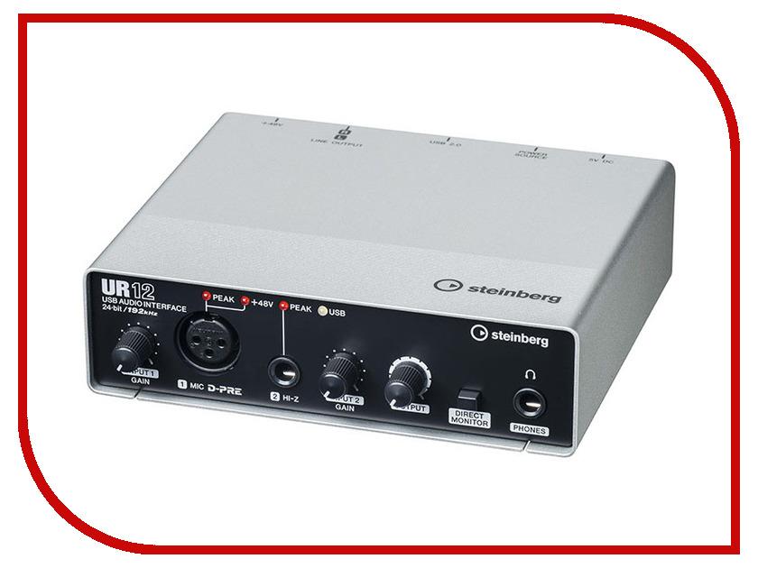 Аудиоинтерфейс Steinberg UR12