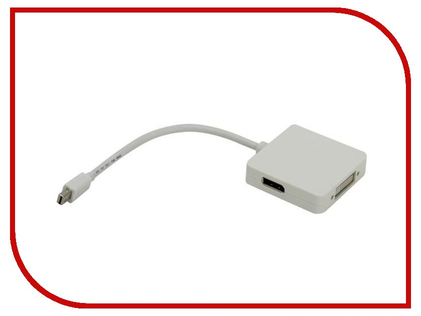 Аксессуар Telecom Mini DisplayPort to DisplayPort/HDMI/DVI TA554<br>
