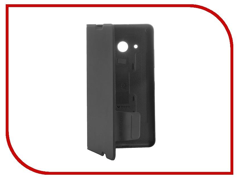 Аксессуар Чехол Microsoft Lumia 550 Mozo Flip Cover Black<br>
