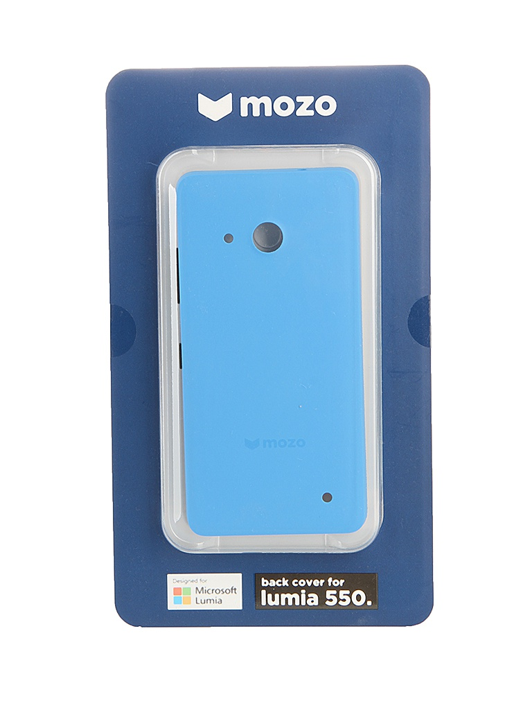 ��������� ����� Microsoft Lumia 550 Mozo Back Cover Blue<br>