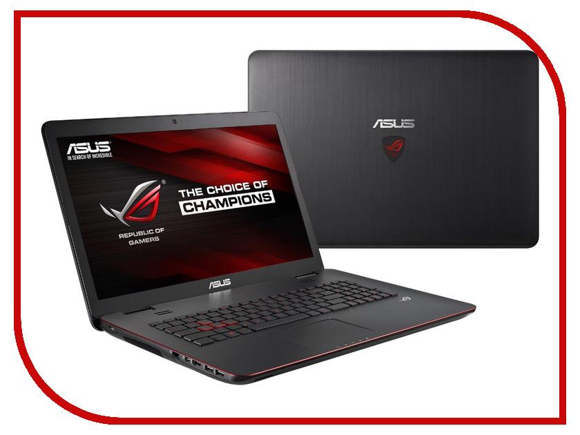 Ноутбук ASUS G771JW 90NB0856-M03330 Intel Core i7-4750HQ 2.0 GHz/12288Mb/1000Gb/DVD-RW/nVidia GeForce GTX 960M 2048Mb/Wi-Fi/Bluetooth/Cam/17.3/1920x1080/Windows 10 64-bit<br>