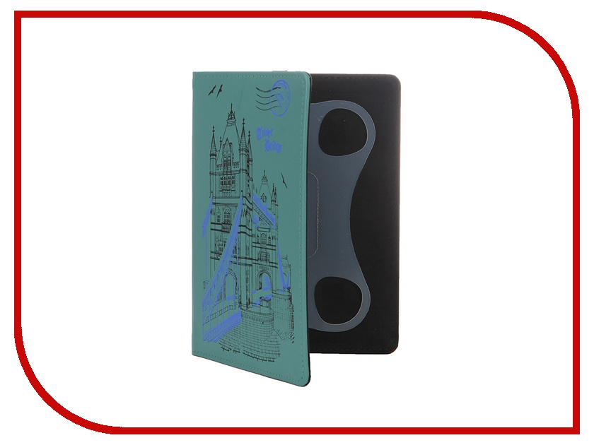 Аксессуар Чехол 6.0-inch Vivacase London универсальный Green VUC-CLN06-green<br>
