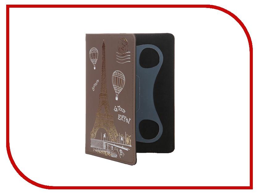 Аксессуар Чехол 6.0-inch Vivacase Paris универсальный Brown VUC-CPR06-br<br>