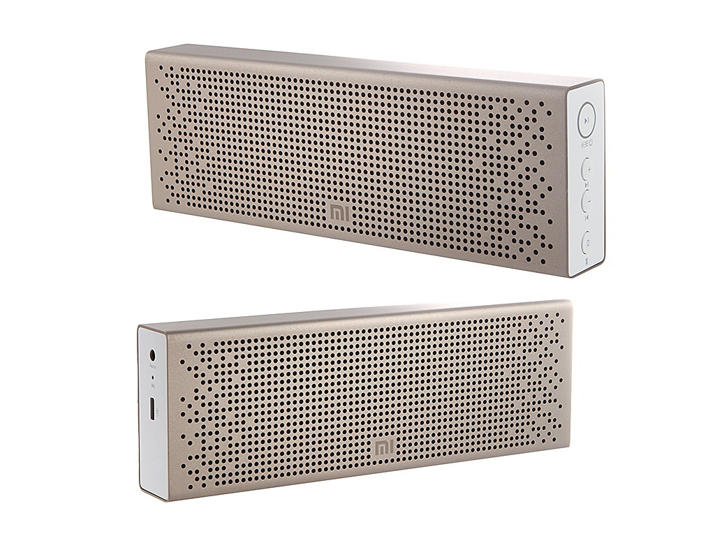 Колонка Xiaomi Mini Square Box 2 / Mi Bluetooth Speaker Gold