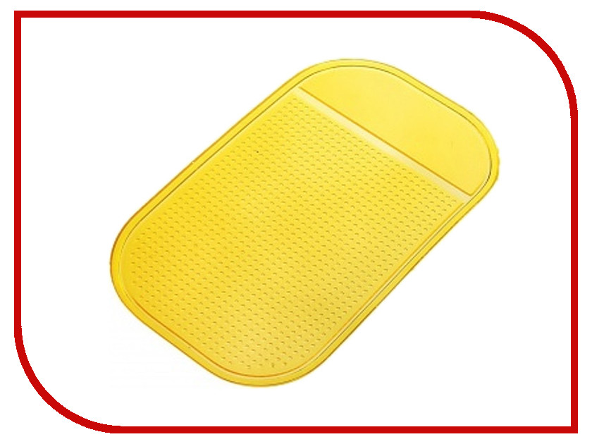 Коврик на торпедо WIIIX SP-01Y Yellow<br>