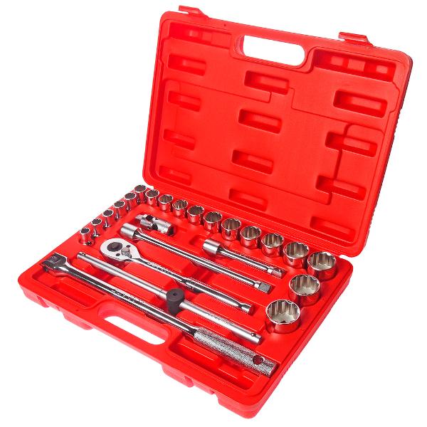 Набор инструмента JTC T424B Набор головок торцевых 12-гранных<br>