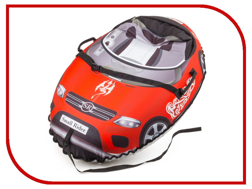 Тюбинг Small Rider Snow Cars Mers Red