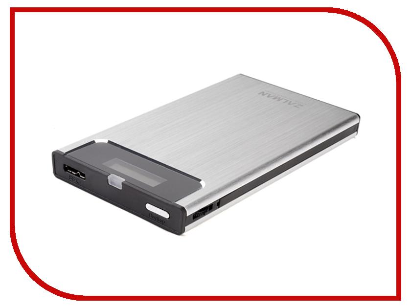 где купить Аксессуар Корпус для HDD Zalman ZM-VE350 Silver дешево
