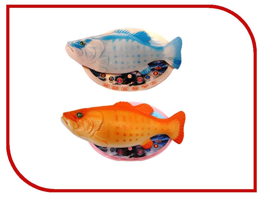 Игрушка СмеХторг Интерактивная рыба Веселый Карп игрушка смехторг orbeez гидрогель аквагрунт шарики светящиеся