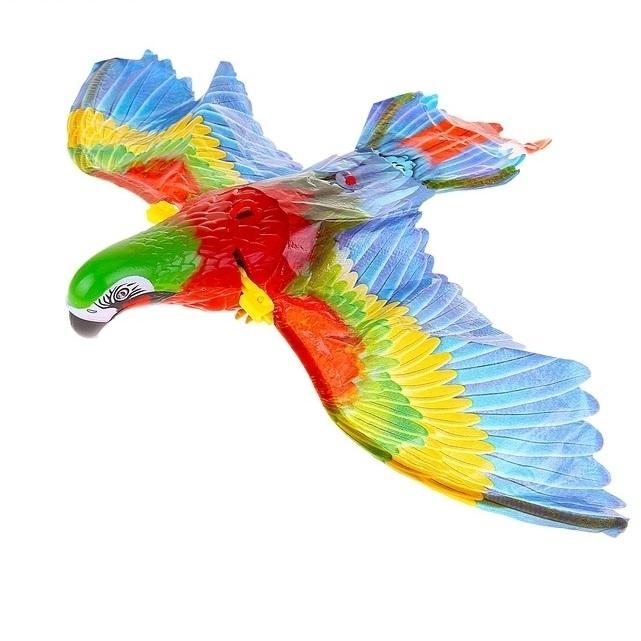 СмеХторг Попугай летающий на батарейках недорого