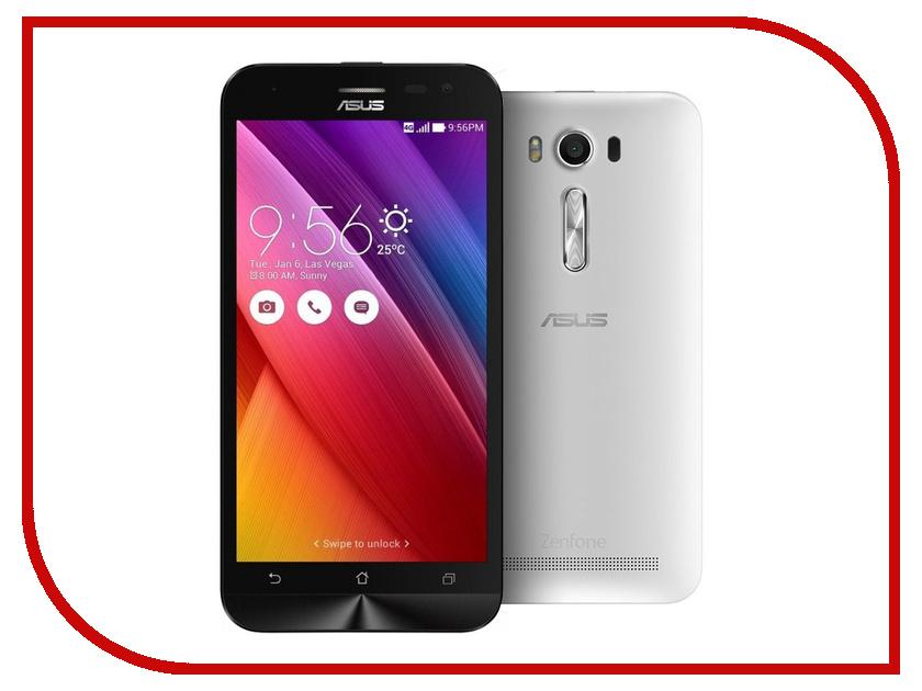 Сотовый телефон ASUS ZenFone 2 Laser ZE500KL 8Gb White asus zenfone 2 laser ze500kl 8gb white