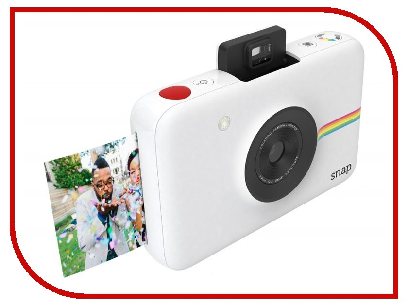 Фотоаппарат Polaroid Snap White фотоаппарат 60d