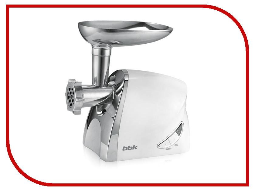 Мясорубка BBK MG2006 White Metallic<br>