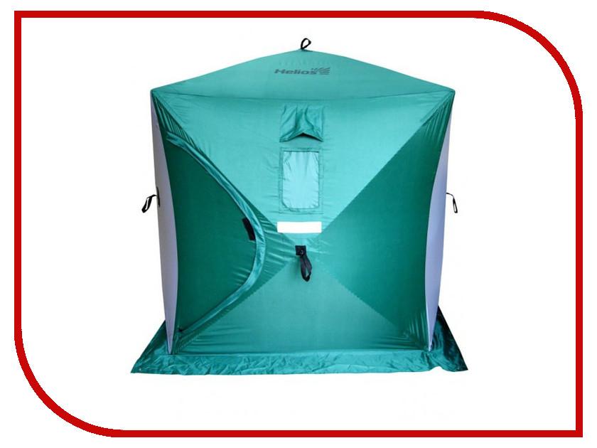 Палатка Helios Куб 1.8x1.8m Green-Grey 085079