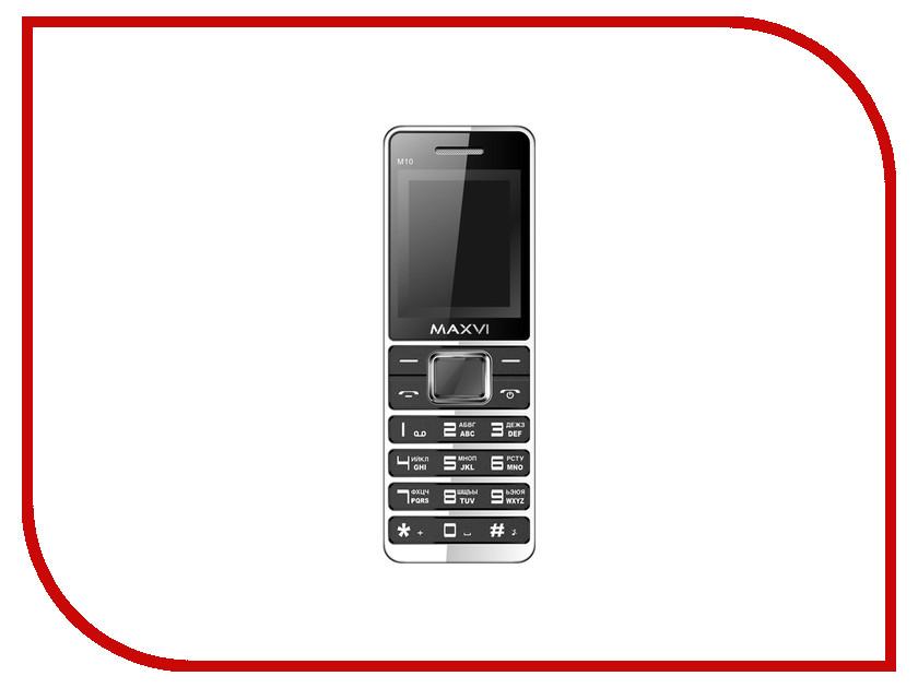 Сотовый телефон Maxvi M10 Black сотовый телефон maxvi v10 white