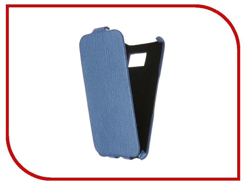 Аксессуар Чехол Samsung Galaxy S6 SM-G920 Cojess Ultra Slim Экокожа Флотер Blue<br>
