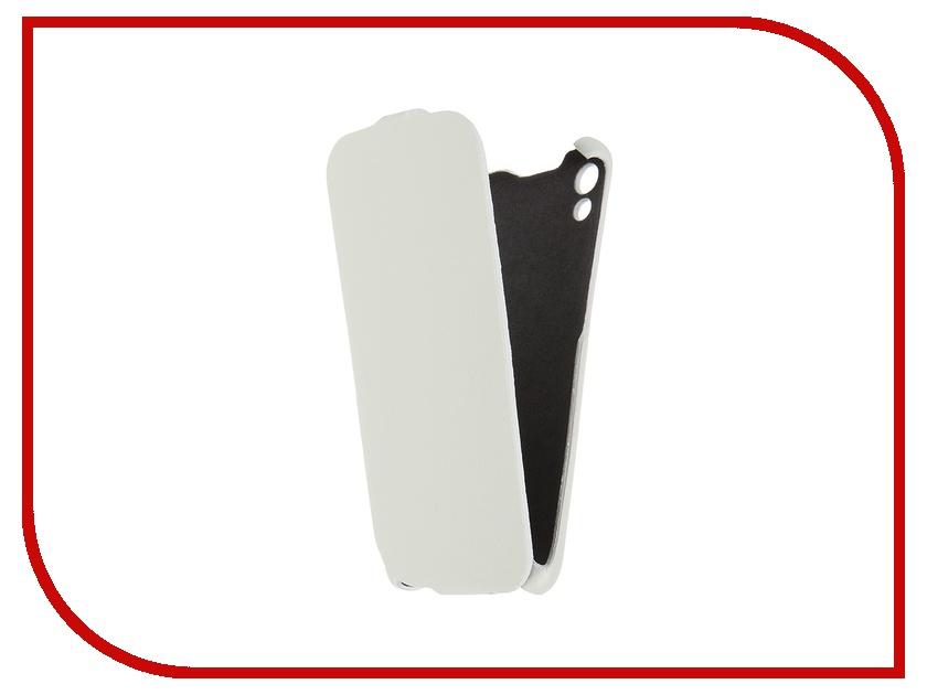 Аксессуар Чехол-книжка HTC Desire 626 Cojess Ultra Slim Экокожа Флотер White