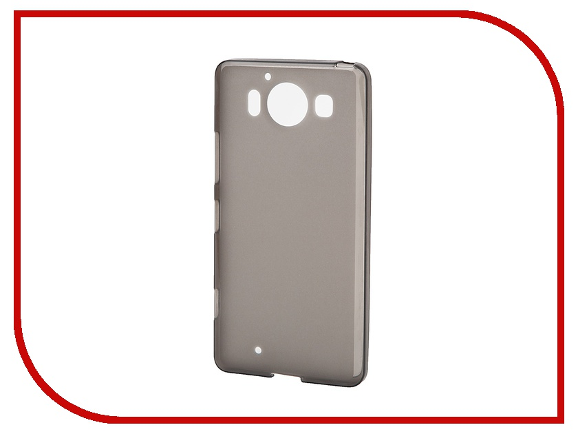 Аксессуар Чехол Microsoft Lumia 950 SkinBox Silicone Shield Brown T-S-M950-005<br>