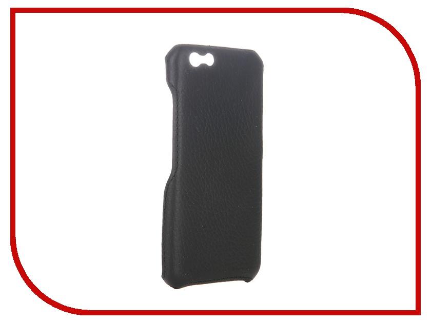 Аксессуар Чехол-накладка Abilita для iPhone 6 4.7 кожаный Black флотер<br>