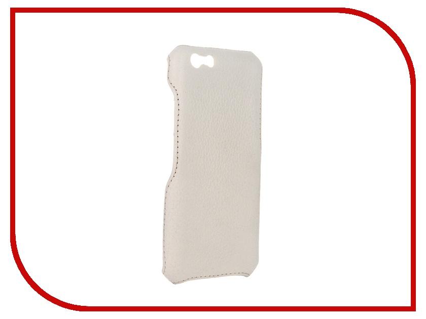 купить Аксессуар Чехол-накладка Abilita для iPhone 6 4.7 Beige Light флотер кожаный недорого