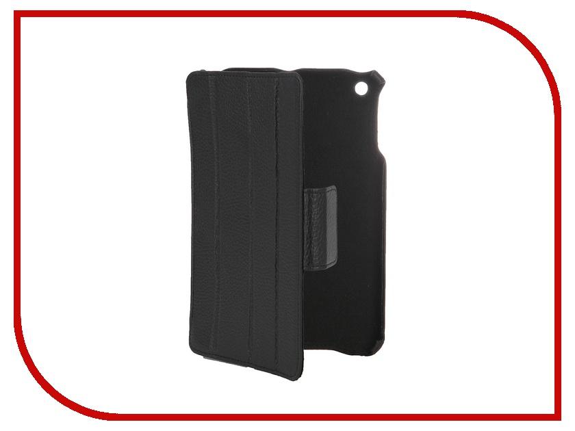 Аксессуар Чехол Abilita для APPlE iPad mini 2 кожаный Black флотер<br>