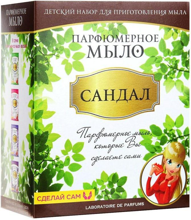 Набор Каррас Мыло парфюмированное Сандал M020 от Pleer