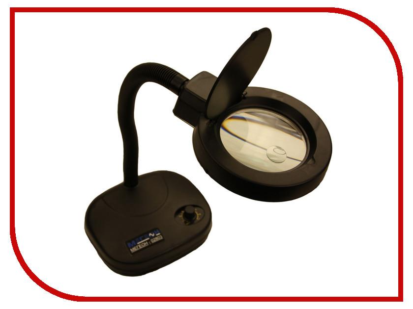 Лампа с лупой бестеневая Мегеон 02803 видеоскоп мегеон 33251