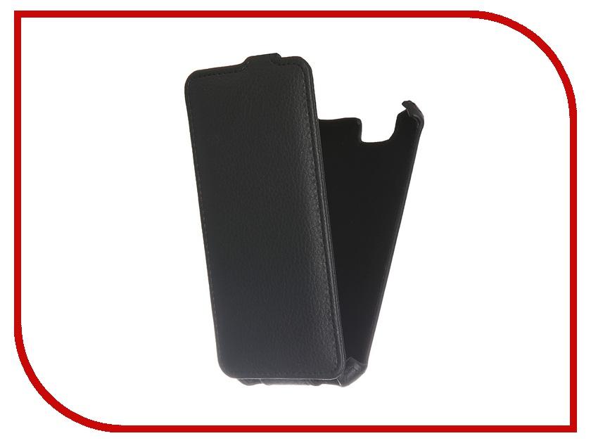 Аксессуар Чехол ZTE Blade L4 PRO Gecko Black GG-F-ZTEBLL4PRO-BL