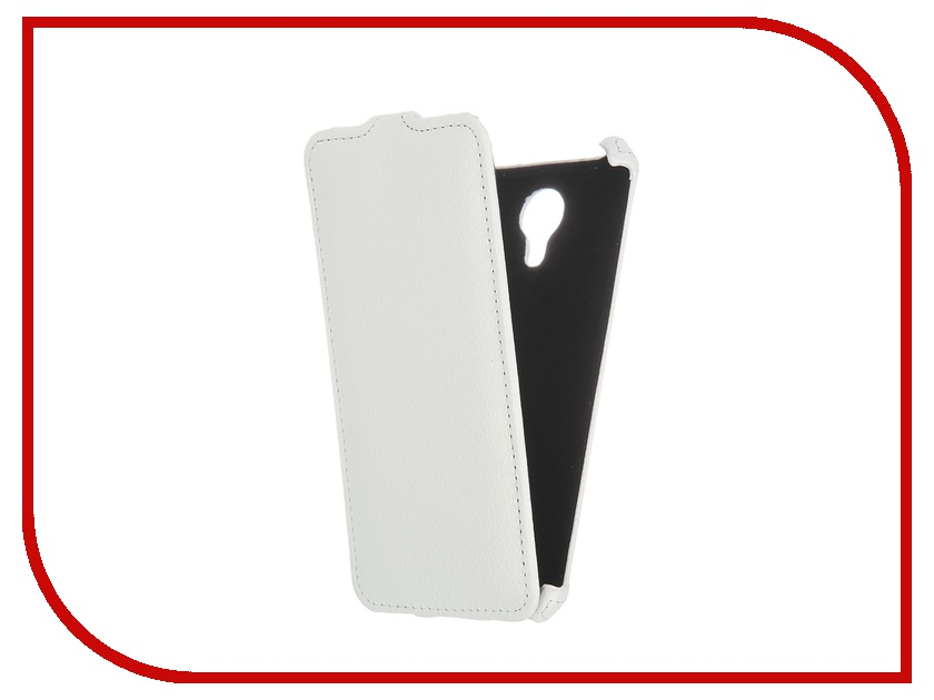 Аксессуар Чехол-флип Meizu M2 Note Gecko White GG-F-MEIM2NOTE-WH аксессуар чехол meizu mx5 armor air slim white gb f meimx5 wh