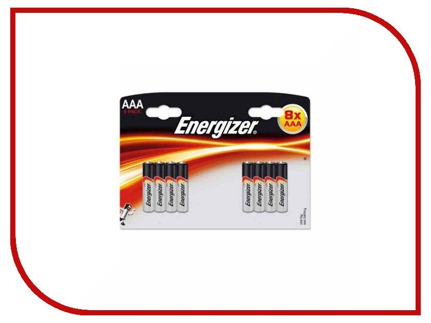 Батарейка AAA - Energizer LR03 (8 штук) E300127800 батарейка energizer base aaa multi blister 20 шт
