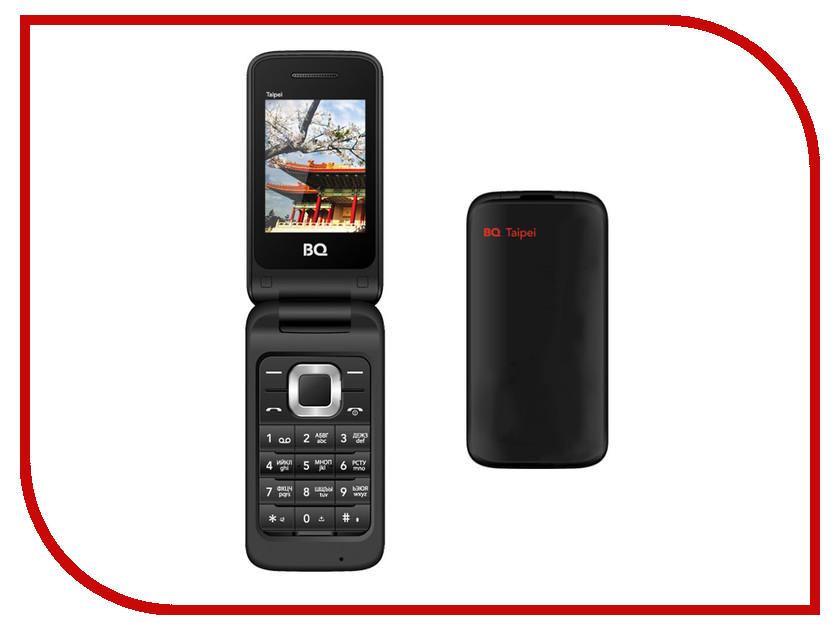 Сотовый телефон BQ BQM-2400 Taipei Black<br>