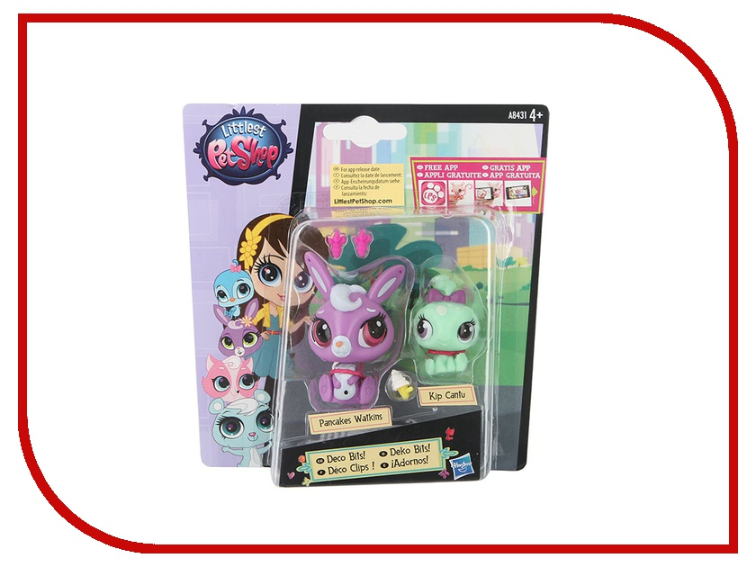 Игрушка Hasbro Littlest Pet Shop Зверюшка и ее малыш A7313
