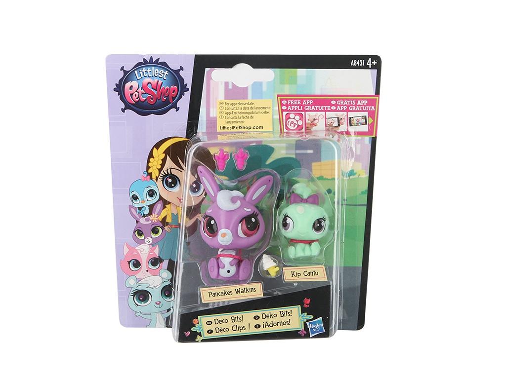 Игровой набор Hasbro Littlest Pet Shop Зверюшка и ее малыш A7313<br>