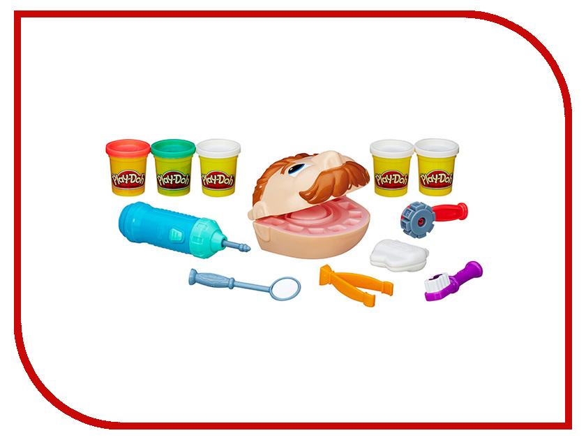 Игрушка Hasbro Play-Doh Мистер Зубастик B5520 игровой набор с пластилином play doh b5520 мистер зубастик обновленная версия